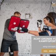 Acht Gründe für Kampfsport in Kiel-Selbstverteidigung- Sicherheit